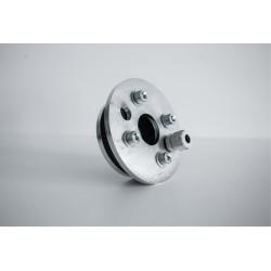 Głowica do rury Ø125 - przelot 40mm